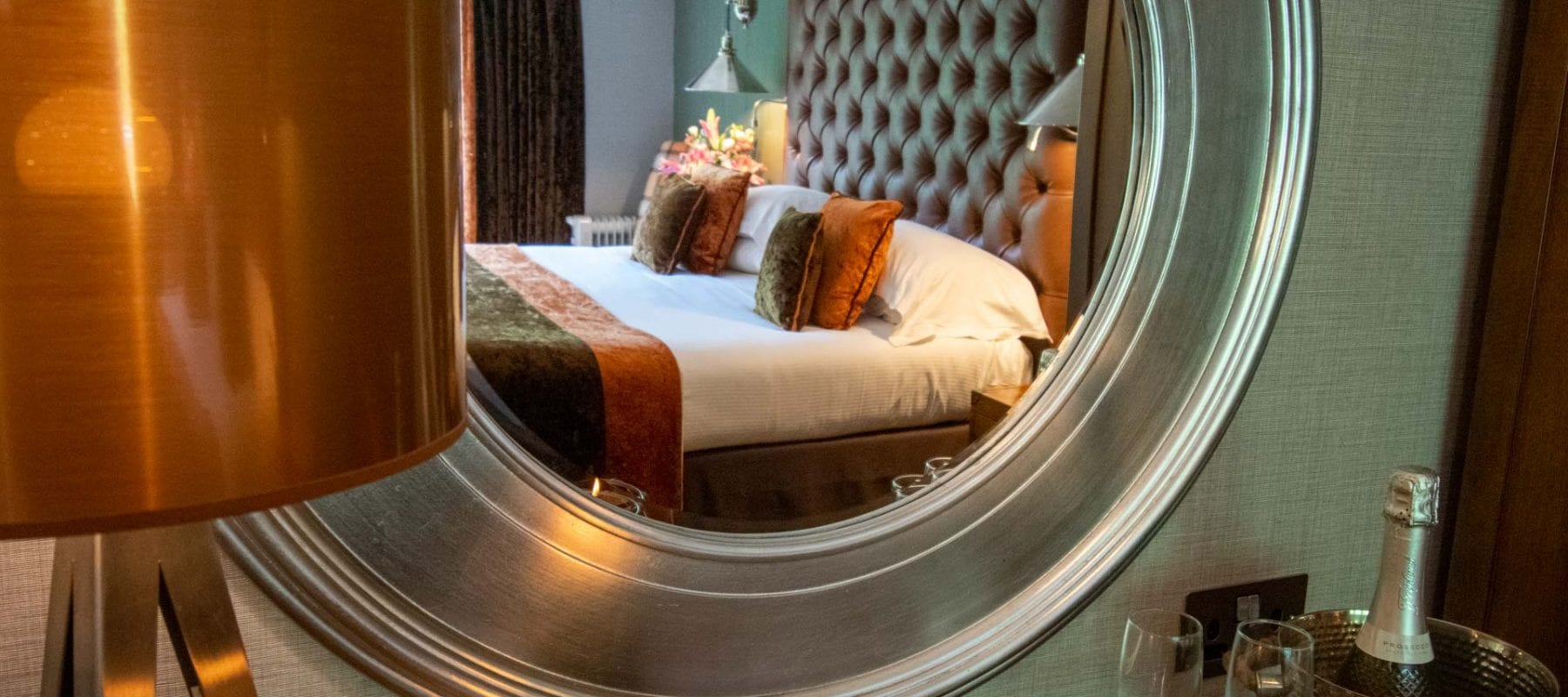 Luxury rooms to relax and unwind in