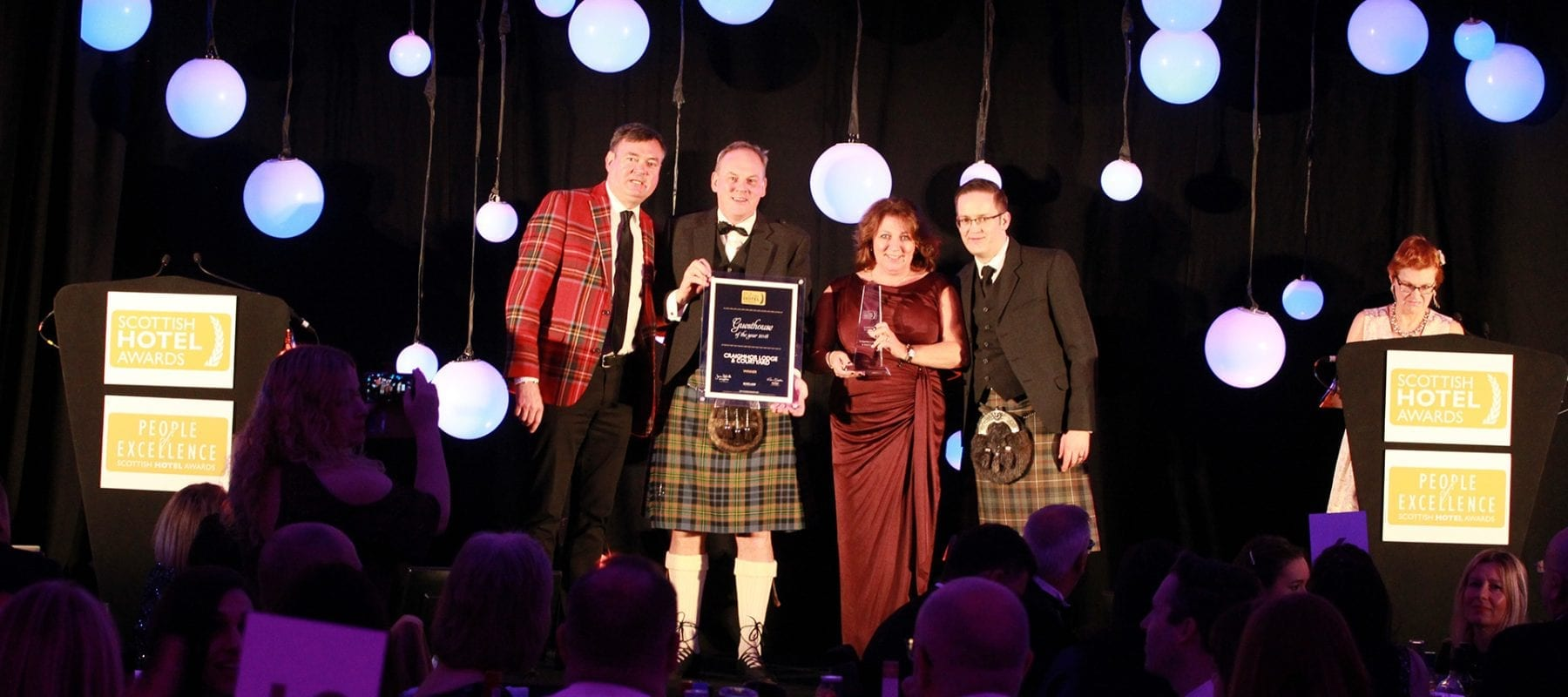 Winner of Best Guest House in Scotland 2019 at the Scottish Hotel Awards