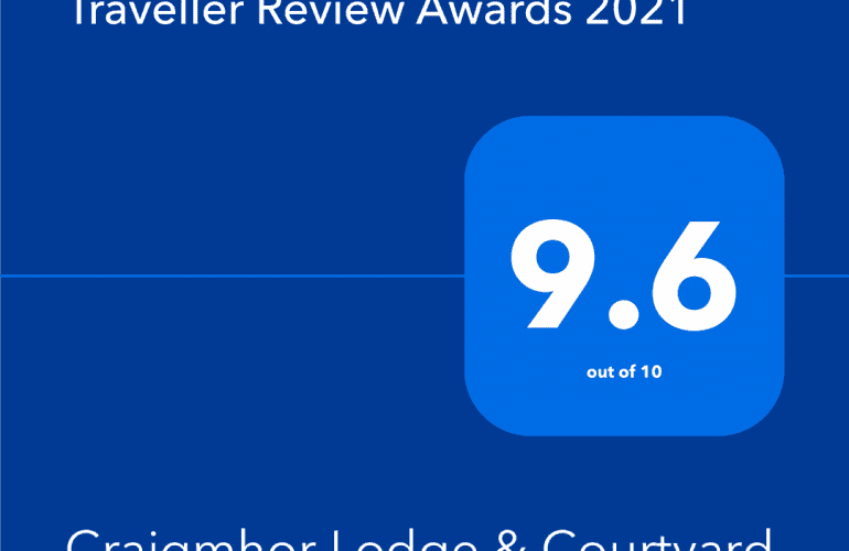 Booking.com 2021 Traveller Review Award - 9.6 score out of 10