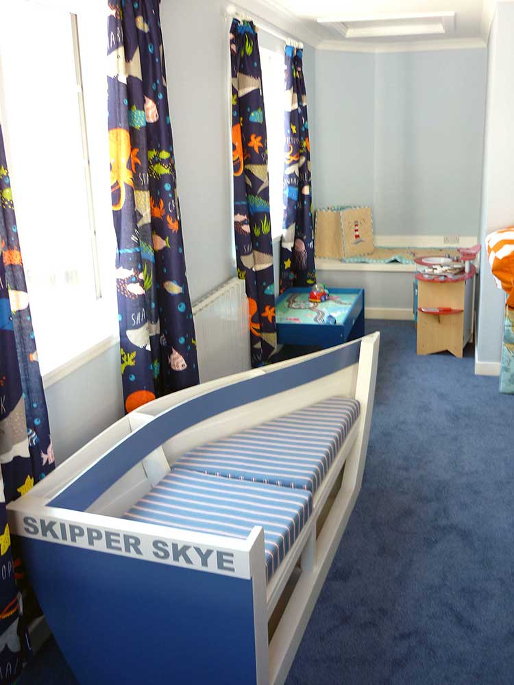 Our toddler & baby room at Melfort Village