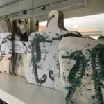 Sea horse kitchen accessories in our gift shop