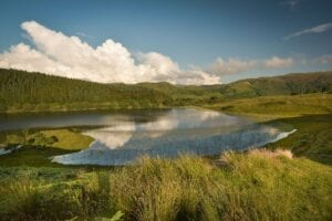 Our fishing lochan at Melfort Village