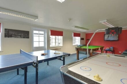 One of our village games rooms