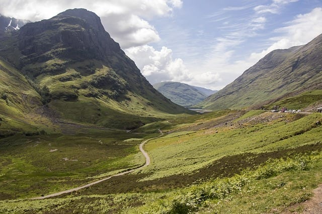 The Sweeping Pass of Glencoe